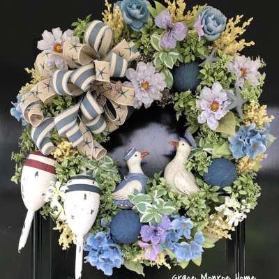 Beach Themed Wreath