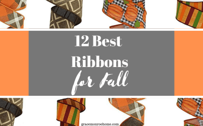 Twelve Fabulous Ribbons for Fall
