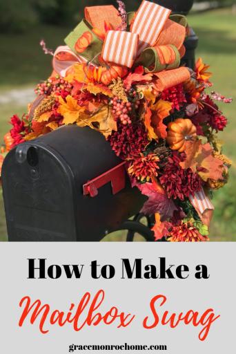 DIY Mailbox Swag