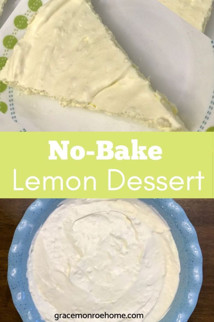 Low Carb & No-Bake Lemon Pie Recipe