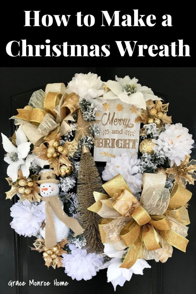 How to Make a Christmas Wreath - Beautiful Holiday Wreath Ideas