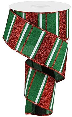 The best Christmas Ribbon for Holiday Decor, Wreaths, and Christmas Trees!