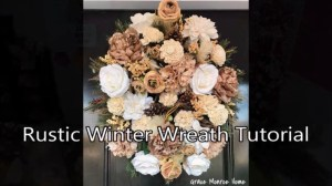 How to Make a Rustic Winter Wreath