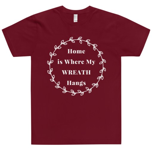 T-Shirt for Women with a Wreath on it