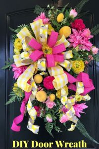How to Make a Front Door Wreath