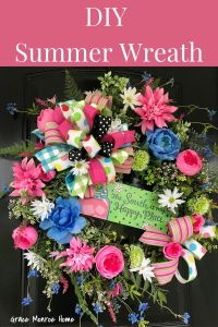 Beautiful Summer Wreath Tutorial