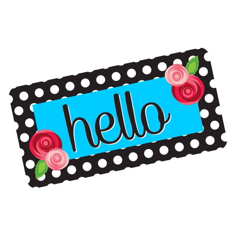 Hello Wreath Sign