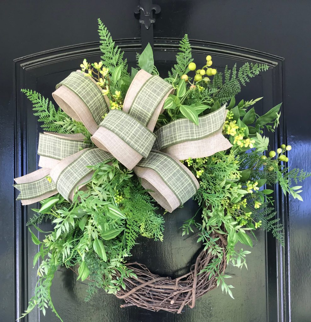 Greenery Wreath Tutorial