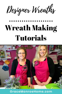 Learn to Make Beautiful Wreaths for Your Front Door!