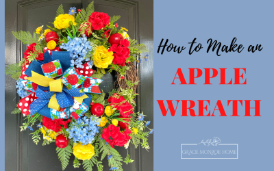 DIY Apple Wreath