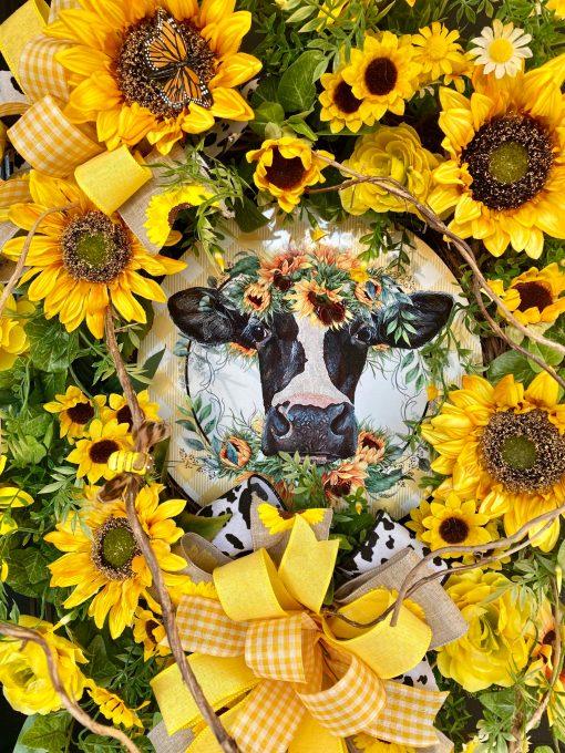 Cow Wreath