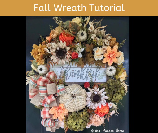 How to Make a Fall Wreath for Your Door