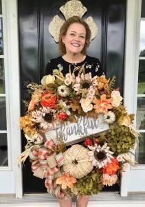 Designer Fall Wreath Tutorial