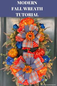 Learn to Create a Stunning Fall Wreath for Your Door!