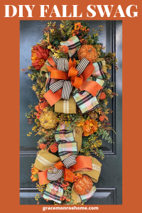 Learn to make a Fall Swag for Front Door