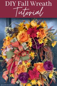 Learn to Make a Beautiful Door Wreath