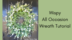 all occasion wreath tutorial