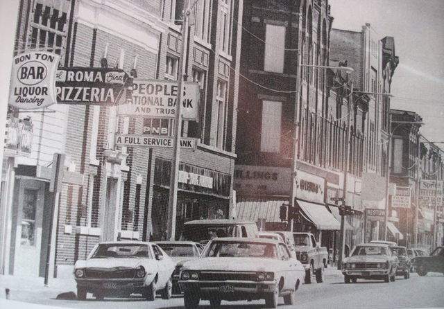 Bay City's Midland St. in the early 70s. It was not half-baked.