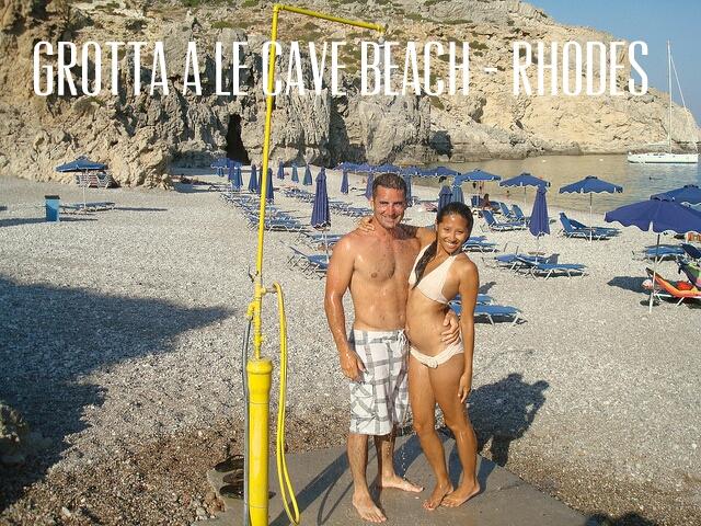 Grotta A le Cave Beach, Rhodes