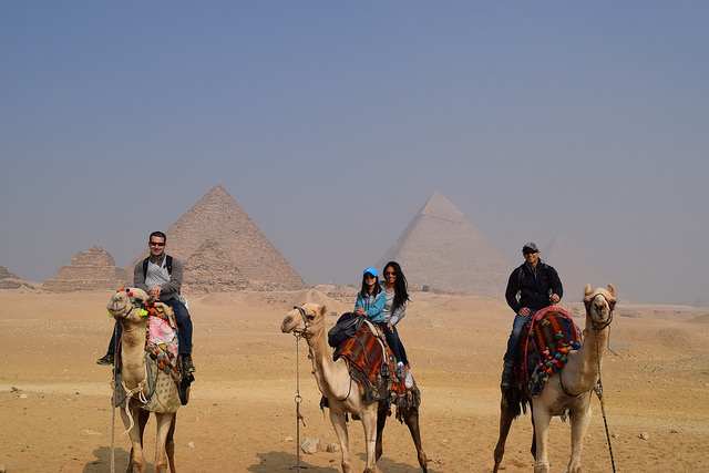No. 2 - Camel Ride to the Pyramids