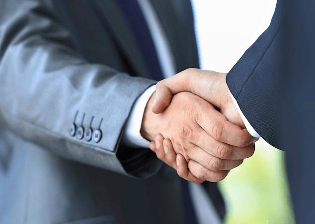 Foreign Service Handshake