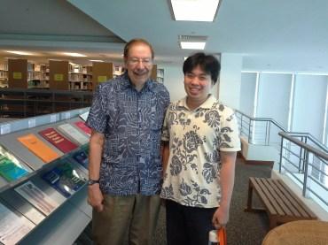 Dengan Prof. Donald A. Hagner