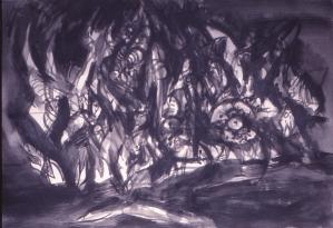 Grace Renzi : N° 120 : 1971/72, 60 x 100 cm.