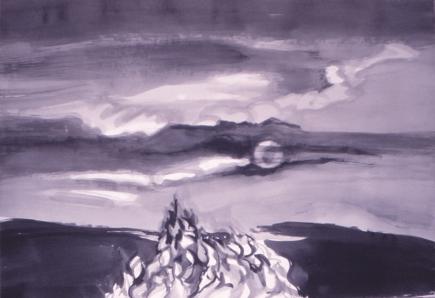 Grace Renzi : N° 124 : 1971/72, 60 x 100 cm.