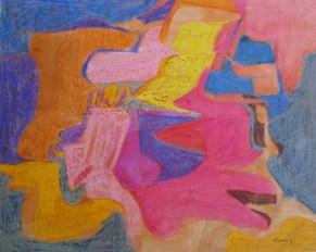 Grace Renzi : N° 20 : 1951/52, 35 x 42 cm.
