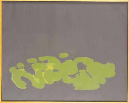 Grace Renzi : N° 223 : 1987, acrylic on canvas, 64 x 81 cm.
