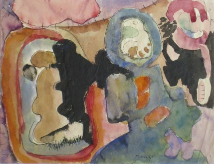 Grace Renzi : N° 29 : 1953, 16 x 21 cm.