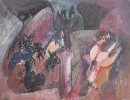 Grace Renzi : N° 30 : 1953, 33 x 42 cm.