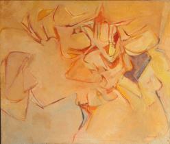 Grace Renzi : N° 33 : 1957/58, oil on canvas, 80 x 100 cm.