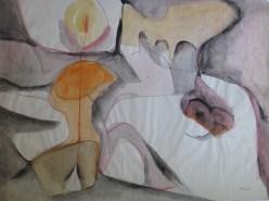 Grace Renzi : N° 34 : 1957, 47 x 67 cm.