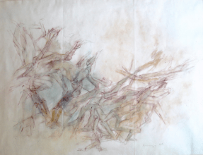 Grace Renzi : N° 60 : 1962, 50 x 60 cm.