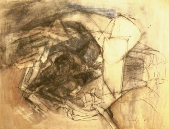 Grace Renzi : N° 70 : 1963, 25 x 32 cm.