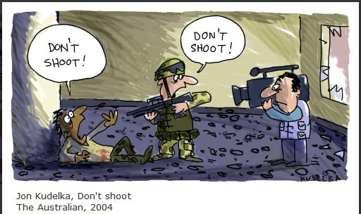 Don't Shoot - Jon Kudelka 2004