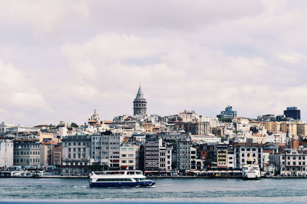 The Galata tower reminds me of Rapunzel's tower.