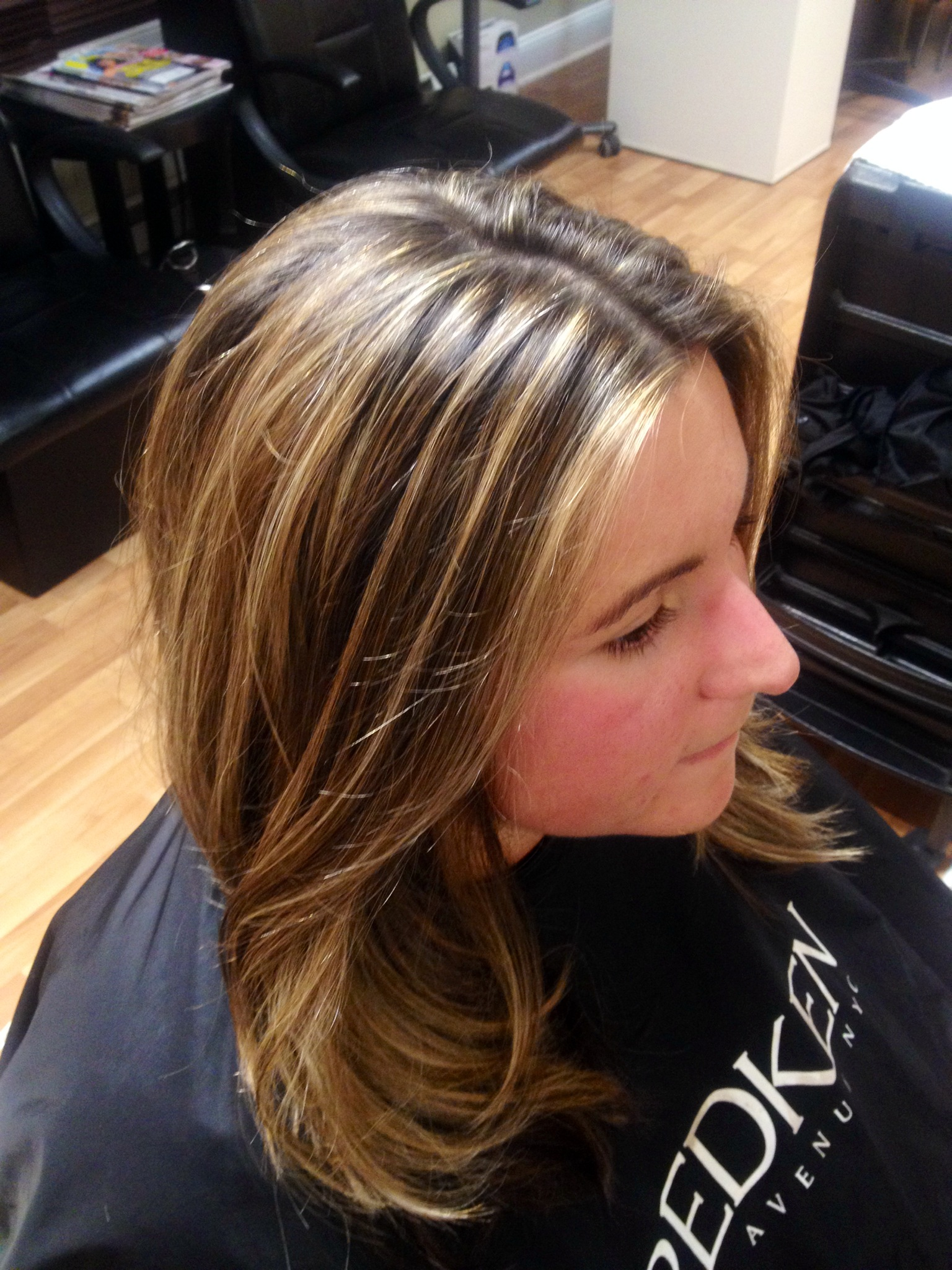 Highlighted Hair Grace To Create