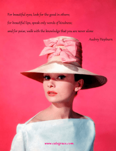 Audrey Hepburn Beautiful