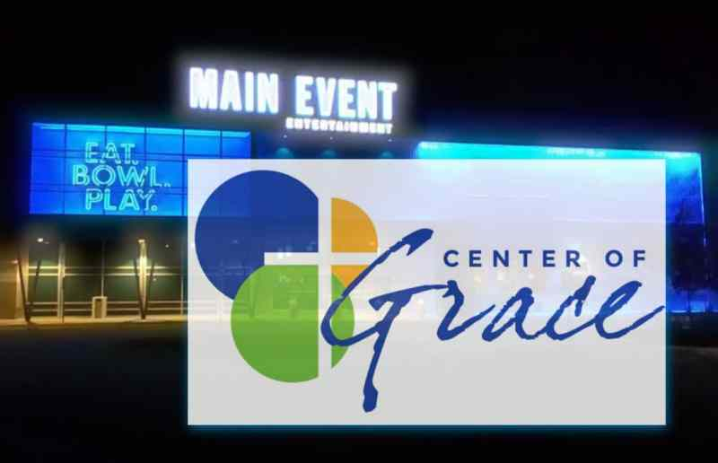 center of grace main event fundraiser