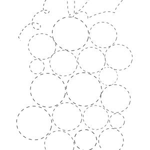 shape tracing worksheets circle