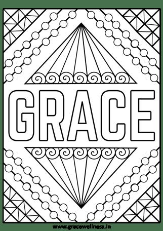 grace coloring sheet pdf
