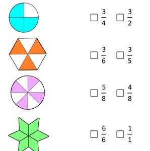 free printable fraction worksheet pdf