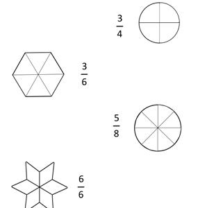 fraction worksheet for class 2