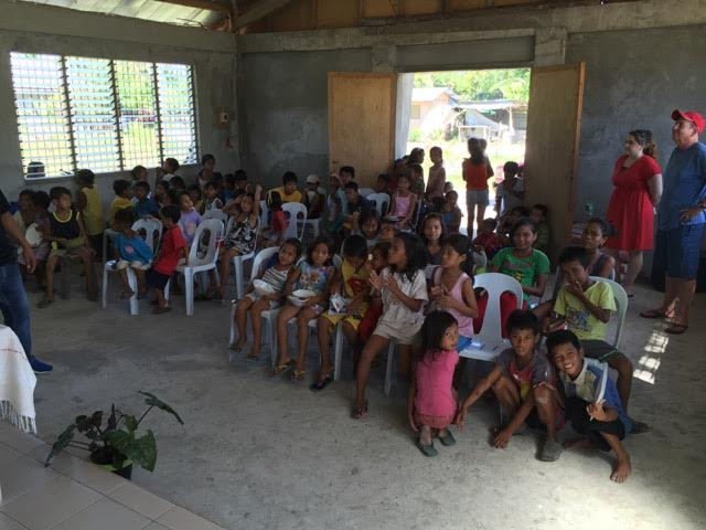 Group of Kids in church