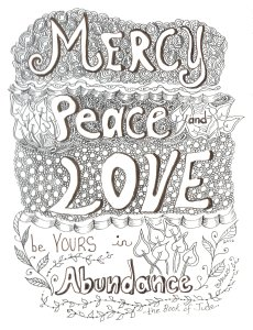 Mercy Peace and Love Jude