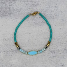 Armband - Light Blue Lagoon - GraciArt