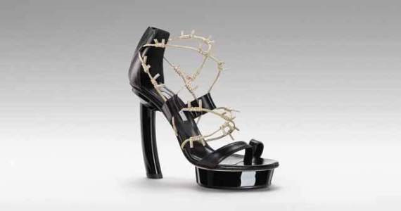 GIO DIEV - Barbwire shoes for women