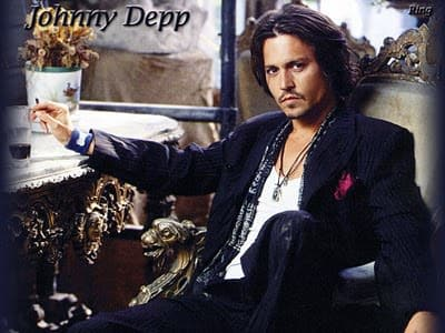 Johnny Depp Fashion Icon - He Knows how to dress - Looking slick